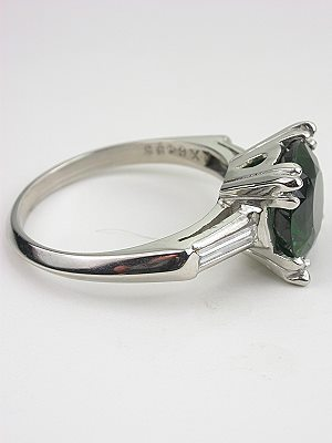 Vintage Ring with Chrome Tourmaline