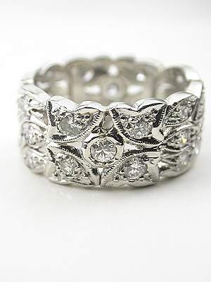 Vintage Wedding Rings Antique Wedding Rings Topazery