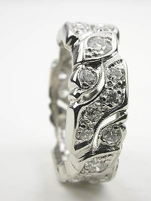Antique Diamond Eternity Band