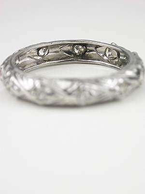 Vintage Filigree Wedding Ring