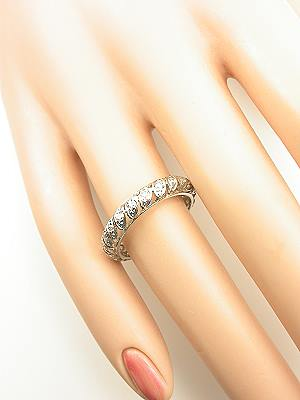Hand Wrought Vintage Wedding Ring