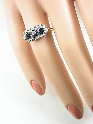 Princess Style Vintage Engagement Ring