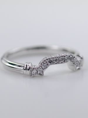Wedding Ring for Engagement Ring Style RG-3306