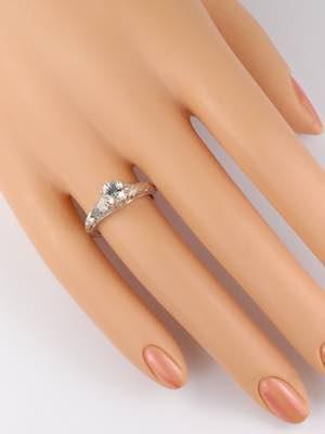 Edwardian Vintage Inspired Engagement Ring