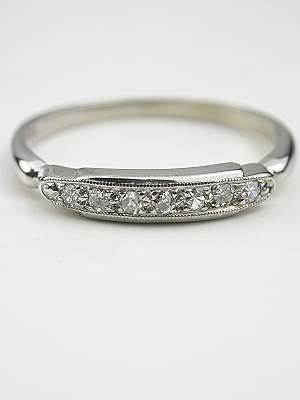 Vintage Diamond Wedding Ring