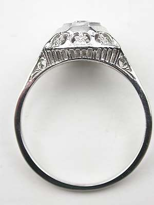 Art Deco Antique Diamond Engagement Ring