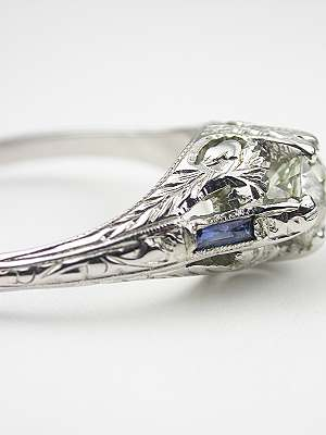 1930s Vintage Diamond Engagement Ring