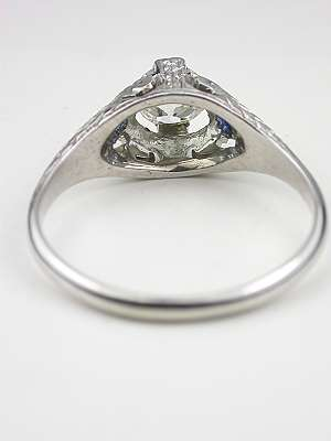 1930s Vintage Diamond Engagement Ring