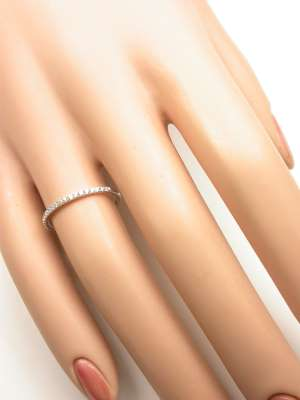 Petite Diamond Wedding Ring