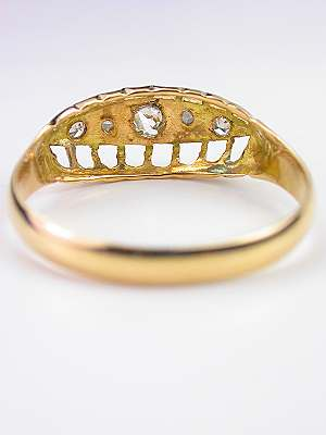 Victorian Antique Wedding Ring