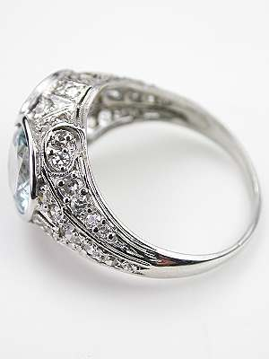 Edwardian Antique Filigree Ring