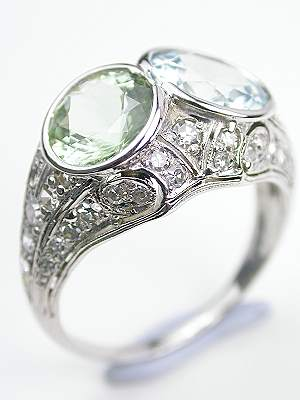 Edwardian Antique Filigree Cocktail Ring