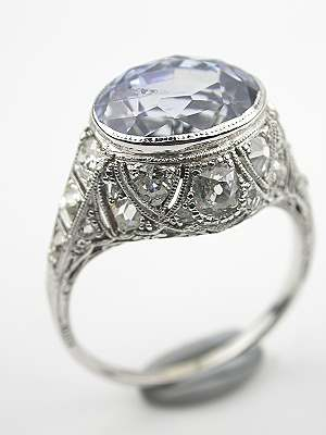 Edwardian Antique Cocktail Ring