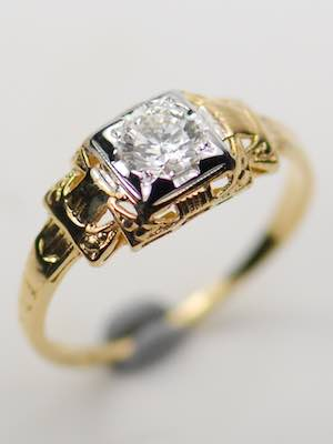 Classic Vintage Engagement Ring