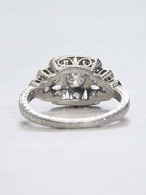 Late Edwardian Antique Engagement Ring
