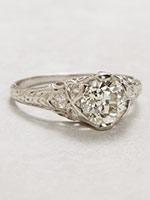 Edwardian Antique Engagement Ring
