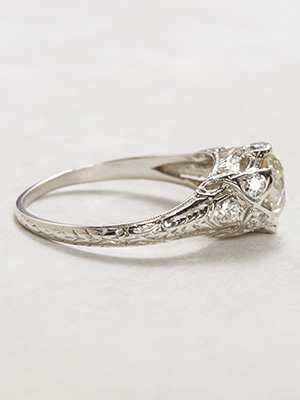 Edwardian Antique Engagement Ring
