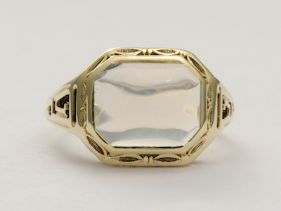 Arts and Crafts Moonstone Antique Ring