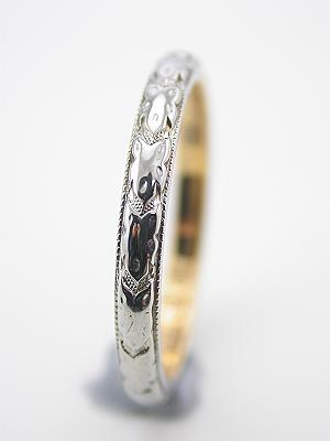 Antique Wedding Ring by J.R. Wood