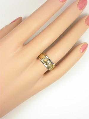 Art Carved  Vintage Wedding Ring
