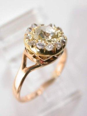 Victorian Antique Diamond Engagement Ring